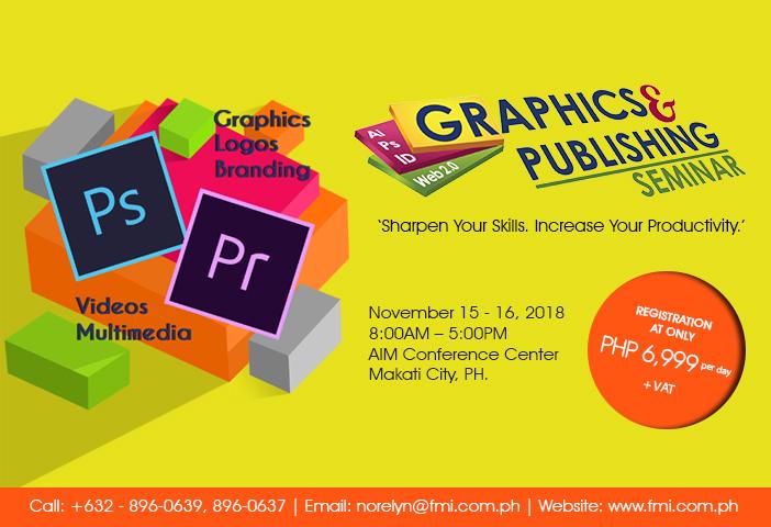 The 24th Graphics & Publishing Seminar 2018