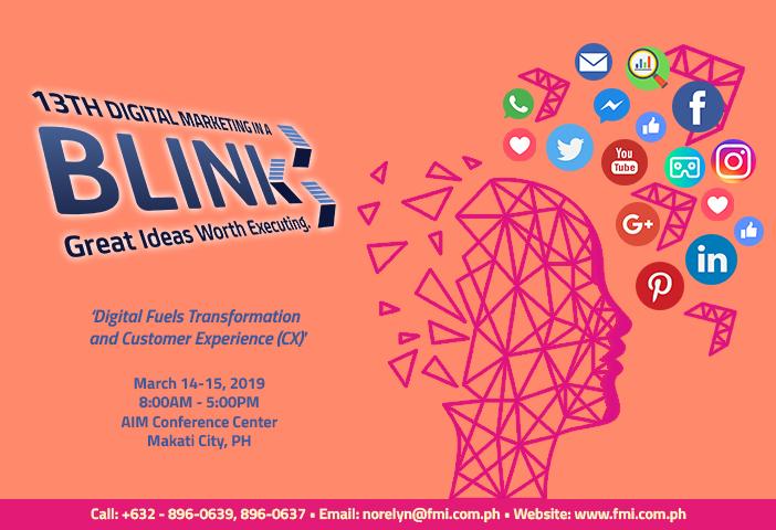 The 13th Digital Marketing in a BLINK Seminar 2019