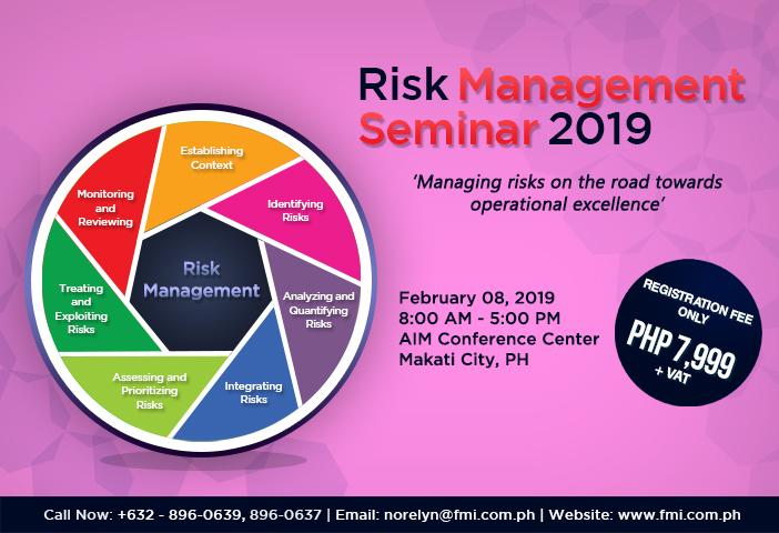 Risk Management Seminar 2019
