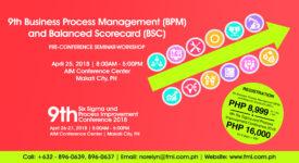 9th Business Process Management and Balaned Scorecard Seminar 2018