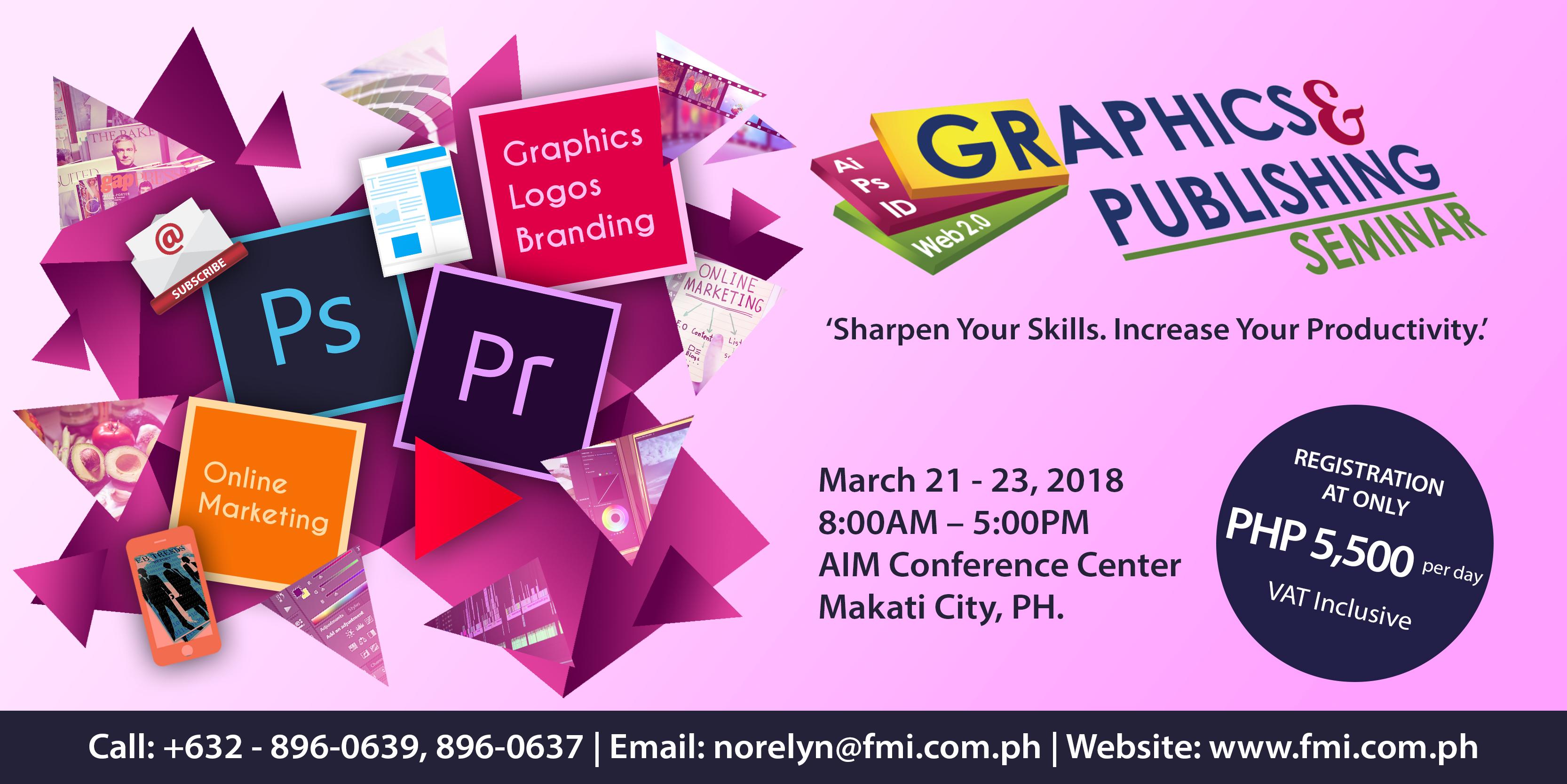 23rd Graphics & Publishing Seminar 2018