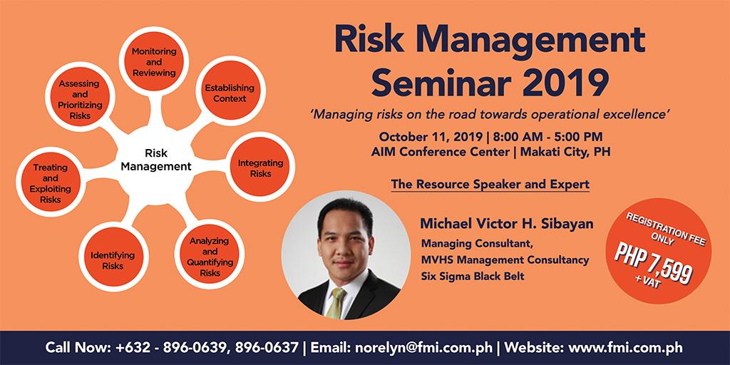 Risk Management 2019